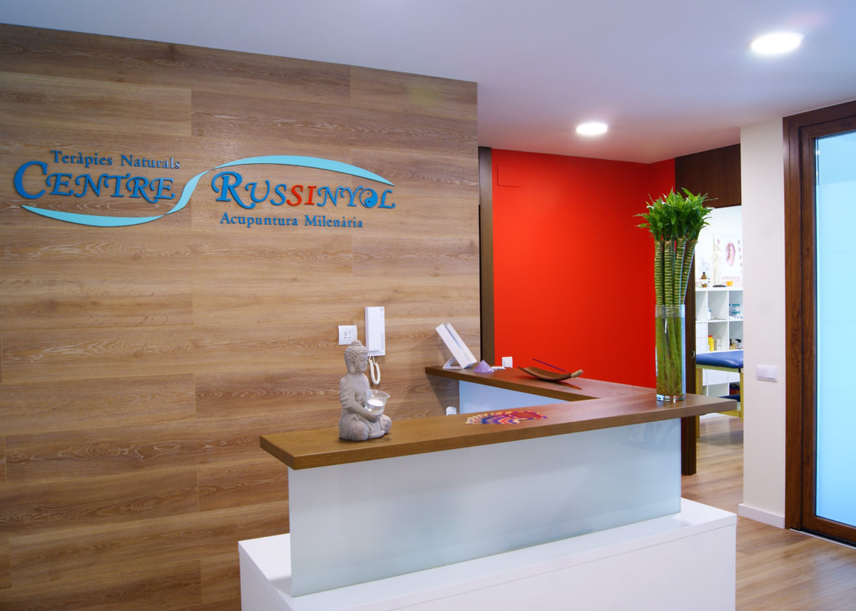 Recepció del Centre Russinyol